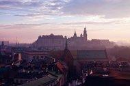 widok na Zamek Wawelski